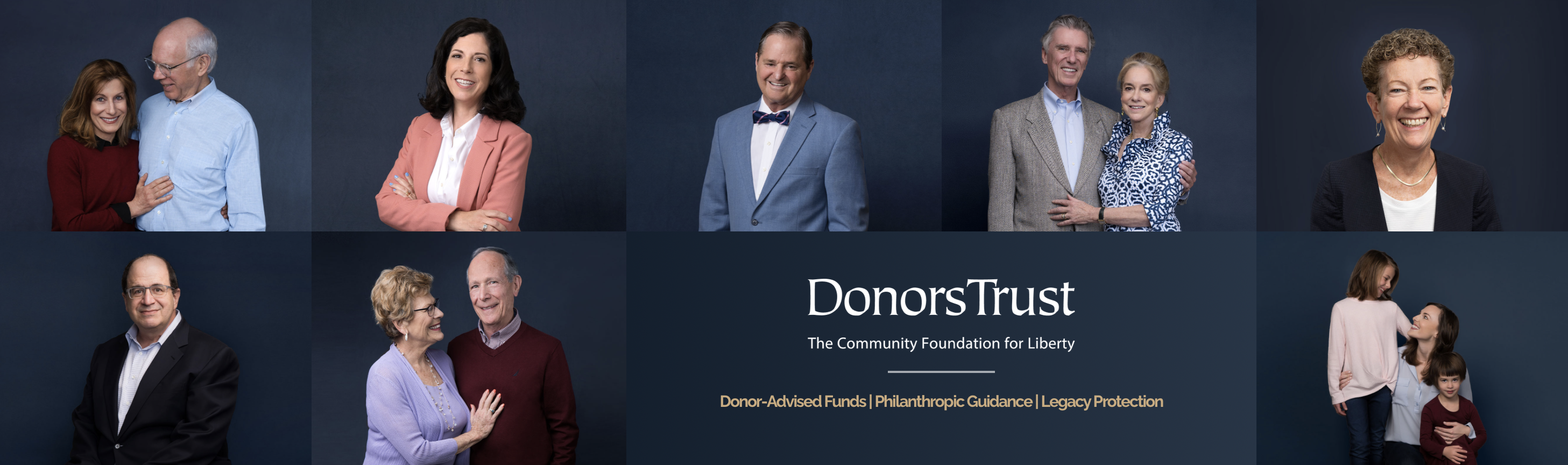 Why Give with DonorsTrust?
